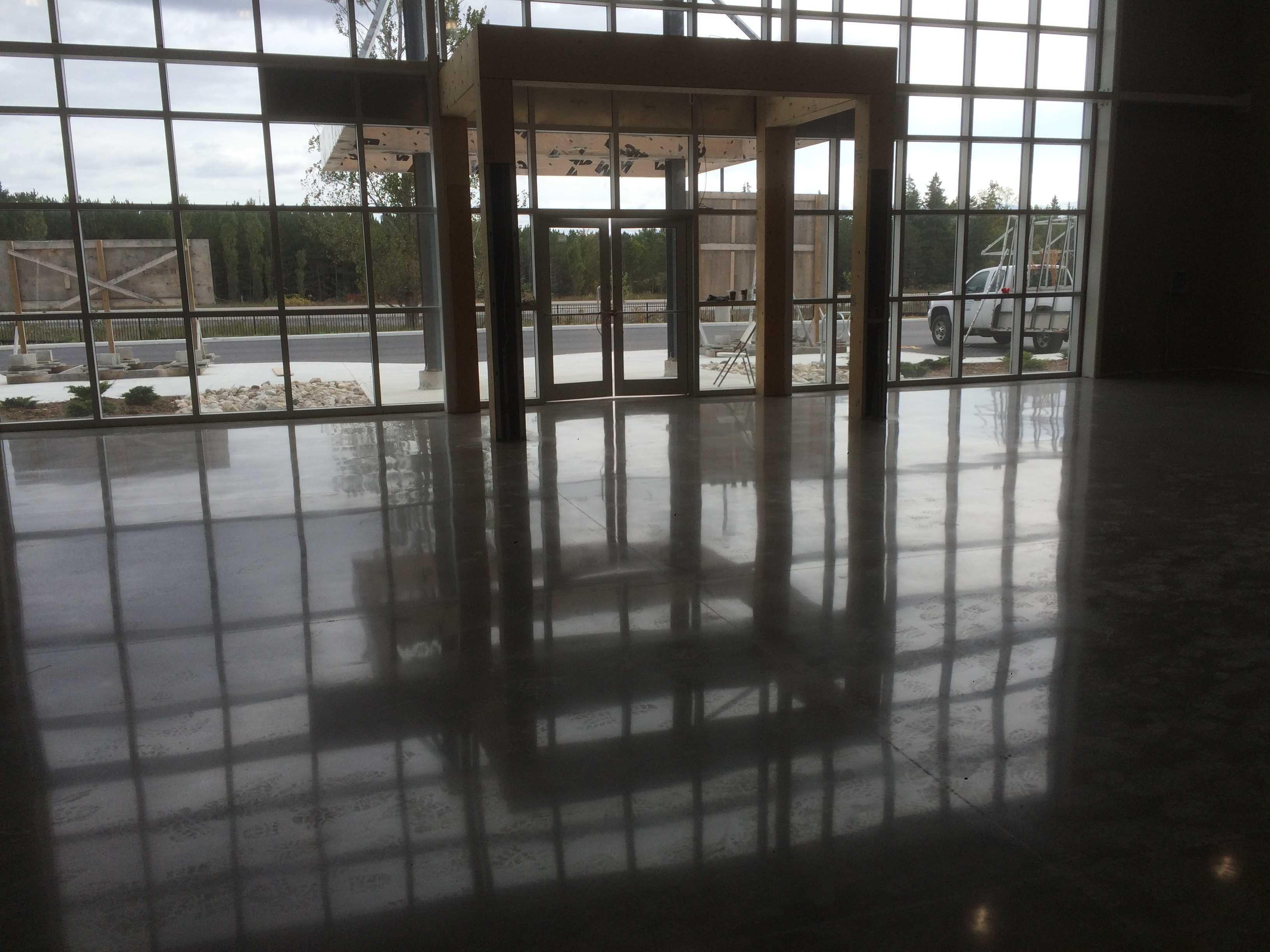 Polished Concrete Floor Gallery