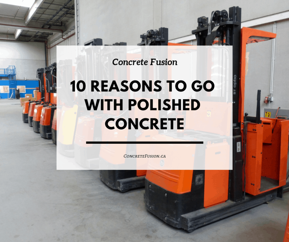 10 Reasons for polished concrete floor
