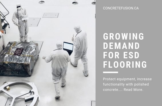 Electrostatic Discharge ESD Epoxy Floor