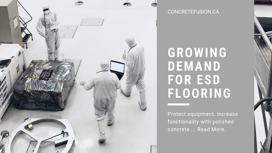The Growing Demand For Electrostatic Discharge (ESD) Control Flooring