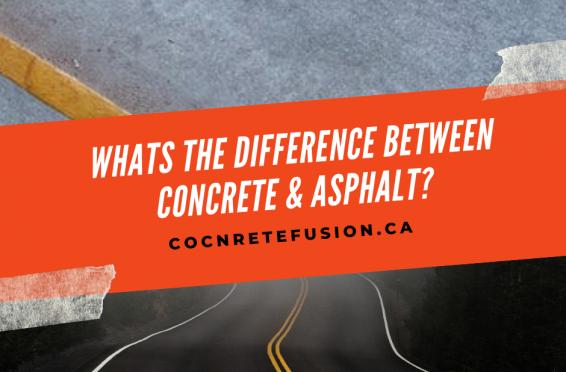 concrete versus asphalt