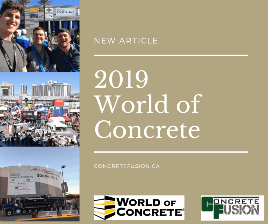 World Of concrete 2019