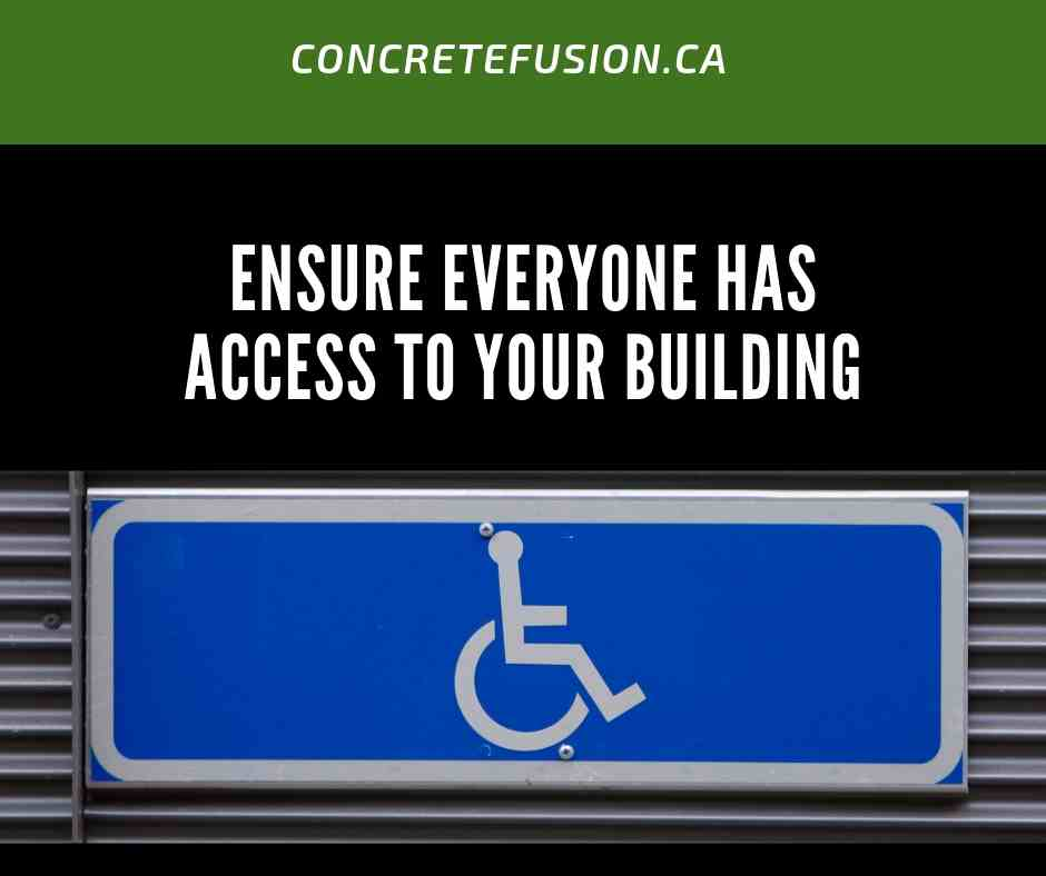 Ensure Your Building Has Disabled Access
