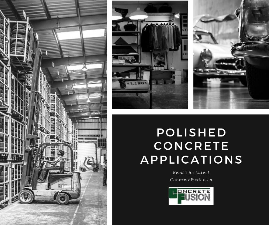 Polished Concrete Applications From Residential to Commercial & Industrial
