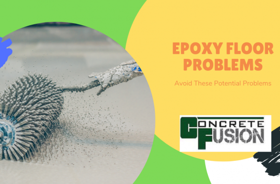common epoxy floor problems