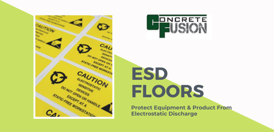 Protect Equipment & Product With ESD Protective Floors