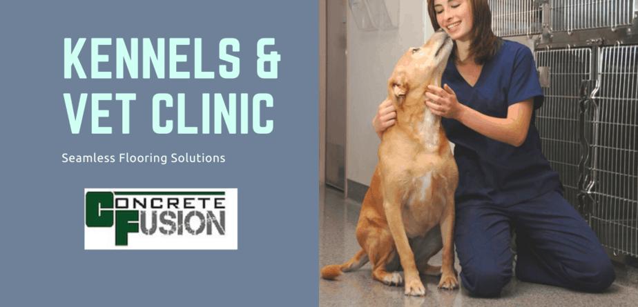 Perfect Floors For Vet Clinics & Kennels