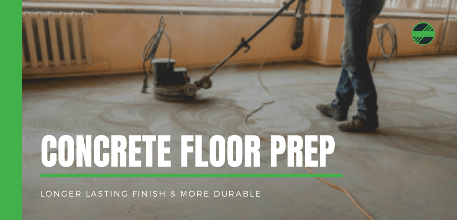 how to prepare concrete for an epoxy coating
