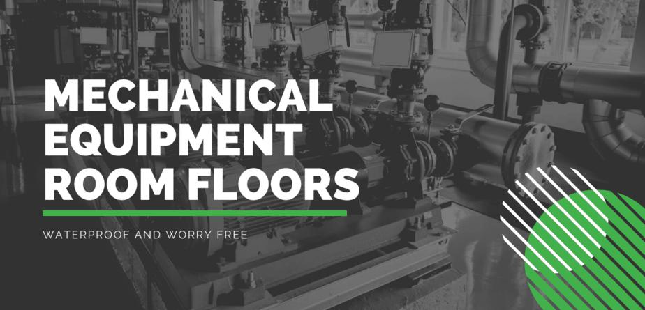 mechanical equipment room flooring solutions