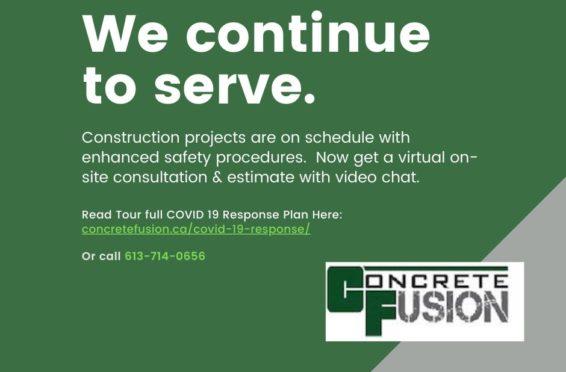 Concrete Fusion Covid 19 Response