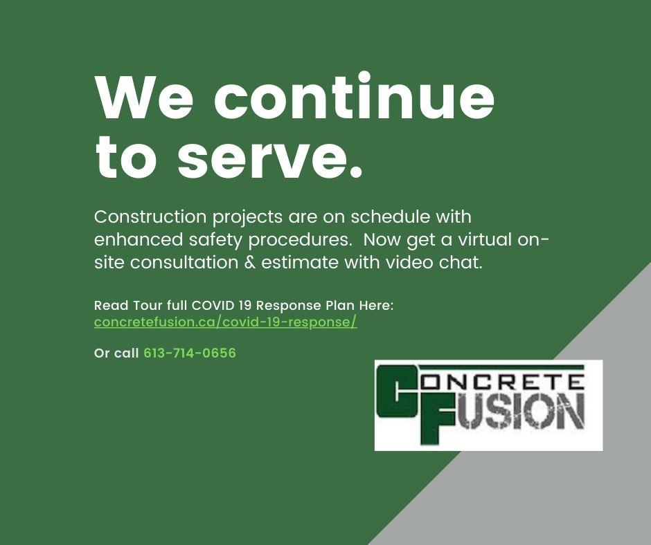 Concrete Fusion COVID-19 Response